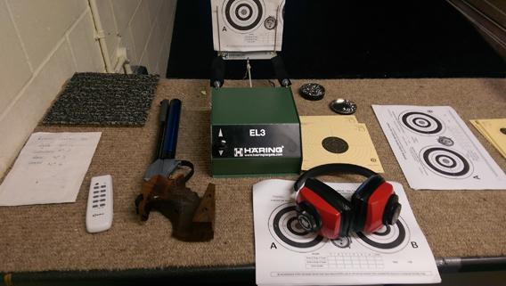 Annegret de Waal, NSA Air Pistol Postals @ London Stock Exchange Indoor Range, 10-2014