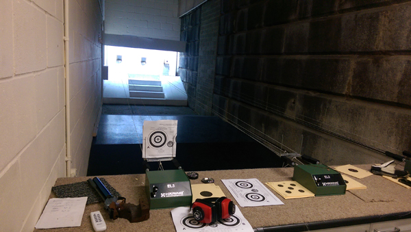 Annegret de Waal, NSA Air Pistol Postals @ London Stock Exchange Indoor Range, 10-2014