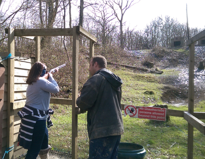 NHSA Member attends Big Shoot at Crawley, UK